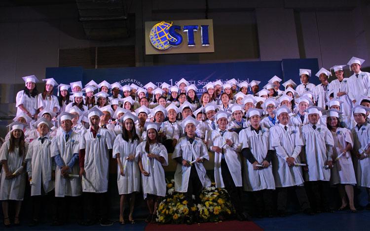 Sti Holds First Senior High Graduation Sti Colleges And